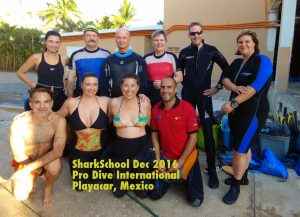 Sharkschool dec 2016 group photo