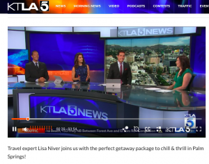 Lisa on KTLA Live AUg 2018