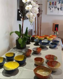 Lisas solo art show