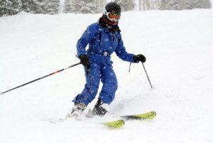Lisa Niver Skiing
