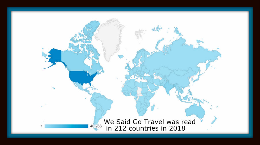 WSGT read in 212 countries 2018
